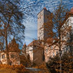 крепостные ворота в Ротенбурге на Таубере