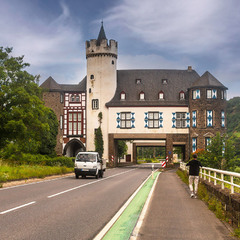 про замок и дорогу