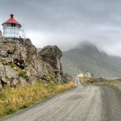 Nyksund i Nordland.
