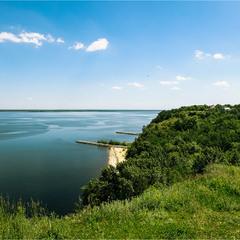 Кусочек моря... Киевского...