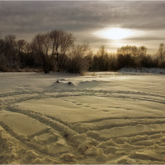 Декабрьские покатухи по льду