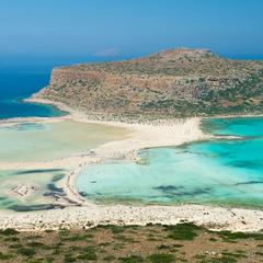 Крит. Бухта Балос, пляж Элафониси