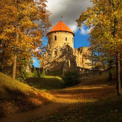 Осень в замке