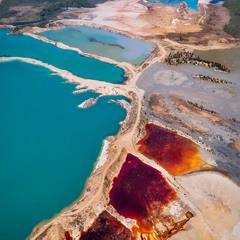 Цветные озера
