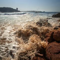 Капучиновое море!