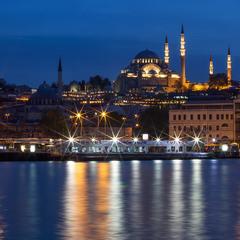 Мечеть и звёзды