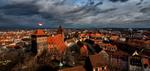 Хмурое небо Нюрнберга