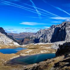 Глубокие чаши горных озер