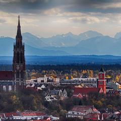Мюнхенський погляд на Альпи