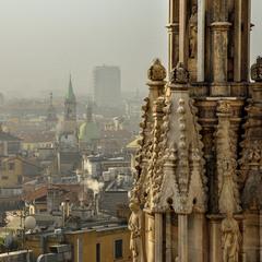 Ранок у Мілані