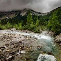 В излучине реки