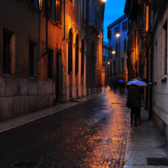 The rain in Verona