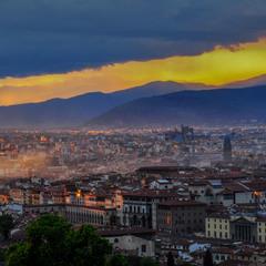 Кольори вечірньої Флоренції
