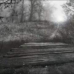 мостик и тропинка