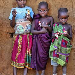 Девочки масаи