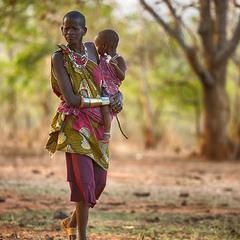 В деревне масаев