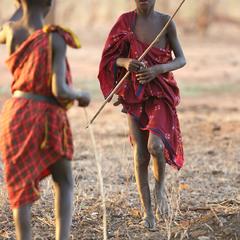 В деревне масаев 3