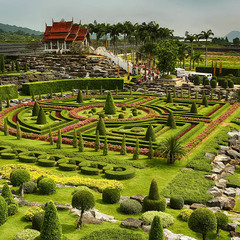 Французкий парк Нонг Нуч (Nong Nooch)