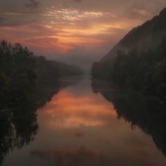 Рассвет над Северским Донцом