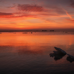 Палитра морского заката
