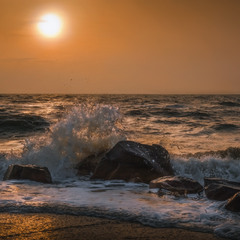 Морская осенняя