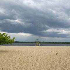 Майский пляж.