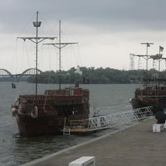 Днепровский флот.