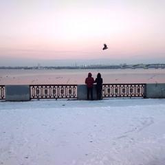 Зимняя романтика.