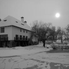Зимний полдень.