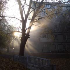 Осеннее утро.