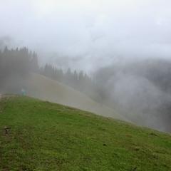 Непогода в горах...