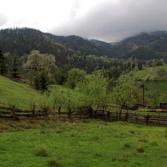 У горах дощ