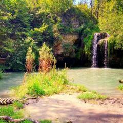 Диво природи – водоспад Бурбун