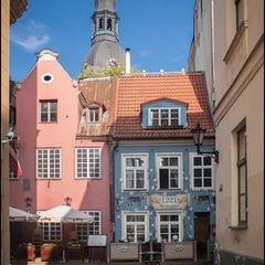Старый город. Рига, Латвия
