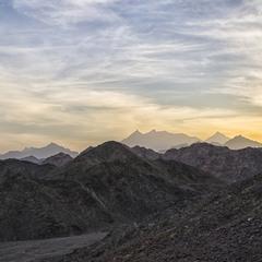 Закат в пустыне 2