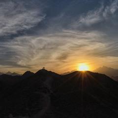Закат в пустыне 3