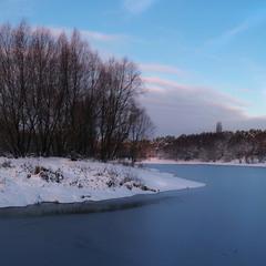 Перший лід...