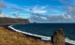 Пляжи с черным песком(Рейнисфияра)... Исландия!
