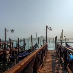 Туманным утром в Венеции...