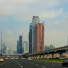 Дорогами Дубай...ОАЭ...(архивное).
