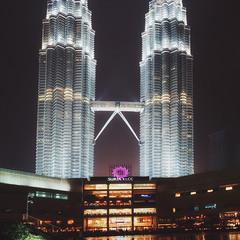 Малайзия, Куала-Лумпур...башни Петронас!