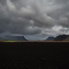 Налетели тучки...Исландия!