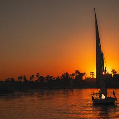 Закат на Ниле...Египет!