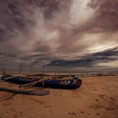 Ранним утром в рыбацкой деревне...Мадагаскар!