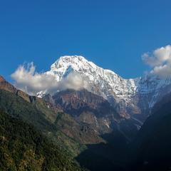 Путешествуя по Гималаям(Аннапурна Южный пик) ... Непал!(архив).