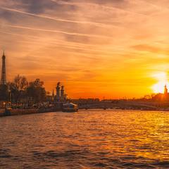 Париж...Париж...(вечерело ).