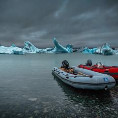 Безмолвие...Ледник... Исландия!
