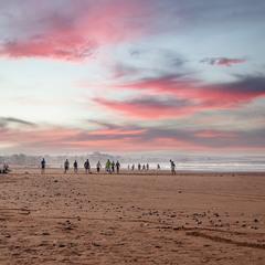 Атлантика...побережье Марокко!