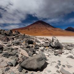 Привал...Путешествуя по Боливии...высота 4500м над уровнем моря!
