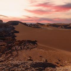 Пустыня Атакама... Чили!